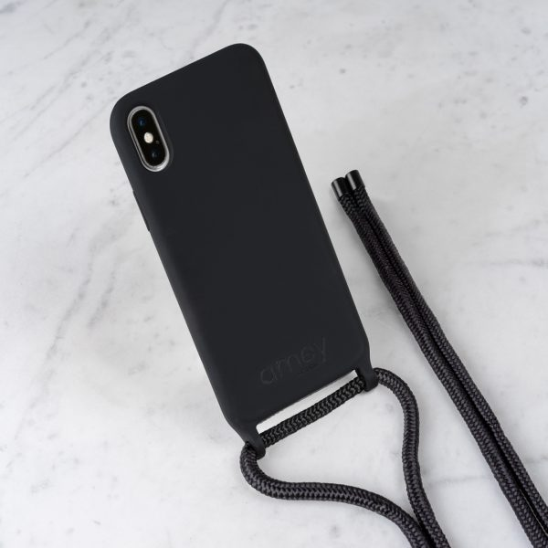 phone cord black
